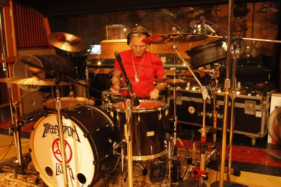 Street Drum Corps Matt Sorum